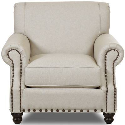 Klaussner Fremont Cream Chair
