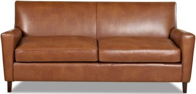 Klaussner Gol 100 Leather Sofa