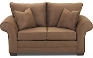 Klaussner Holly Mocha Loveseat