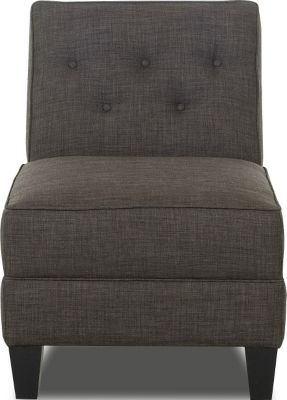 Klaussner Teagan Gray Armless Chair