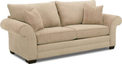Klaussner Holly Cream Queen Sleeper Sofa Sofa