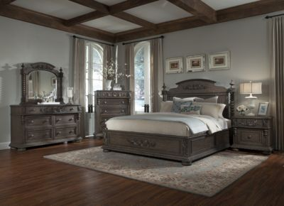 Klaussner Versailles 4-Piece Queen Bedroom Set