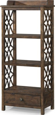 Klaussner Honeysuckle Burnished Etagere