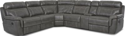 Klaussner Silas 6-Piece Reclining Sectional