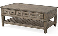 Klaussner Riverbank Whitewater Coffee Table