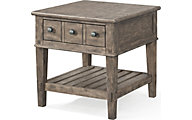 Klaussner Riverbank Whitewater End Table