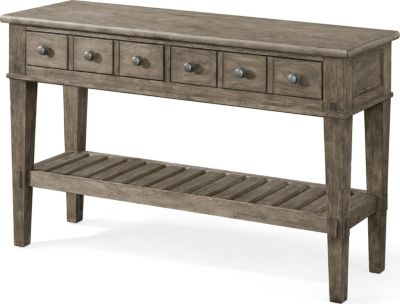 Klaussner Riverbank Whitewater Sofa Table