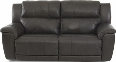 Klaussner Albus Leather Power Recline Sofa