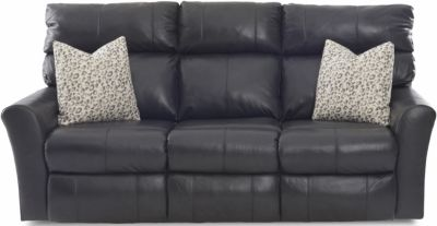 Klaussner Xavier Leather Power Recline Sofa