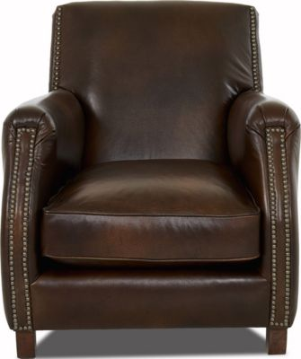 Klaussner Rocket 100% Leather Chair