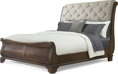 Klaussner Trisha Yearwood Dottie Upholstered Queen Bed