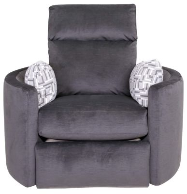Klaussner Cosmo Reclining Swivel Chair