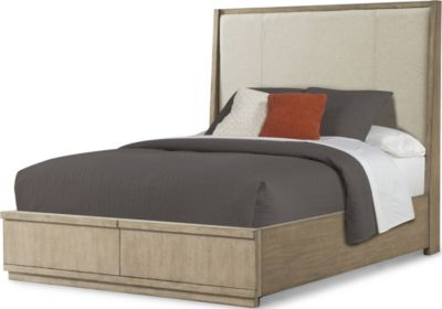 Klaussner Melbourne Upholstered Queen Storage Bed