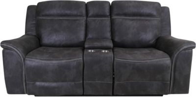 Klaussner Huxley Power Headrest Loveseat