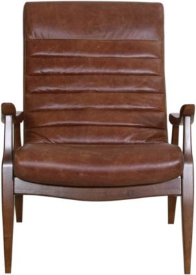 Klaussner Meed 100% Leather Chair