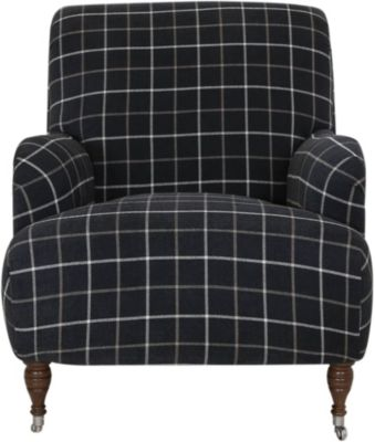 Klaussner Ginger Chair with 1 Pillow