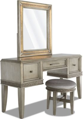 Klaussner Sophia Vanity and Stool