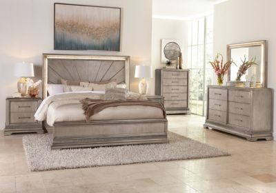 Klaussner Sophia 4-Piece Queen Bedroom Set