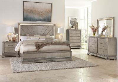 Klaussner Sophia 4-Piece King Bedroom Set
