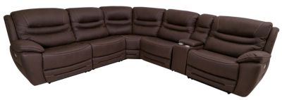 K Motion KM 083 Collection 6 Piece Power Recline Sectional