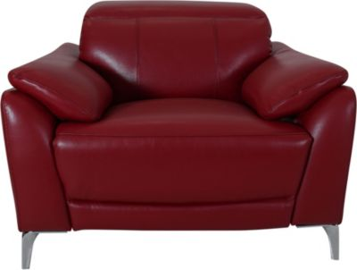 K Motion KM515 Collection Leather Power Headrest Recliner