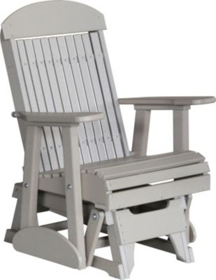 Remarkable Amish Outdoors Classic High Back Outdoor Glider Chair Download Free Architecture Designs Xerocsunscenecom