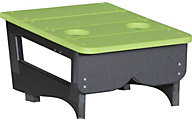 Amish Outdoors Center Table for Gliding Sofa