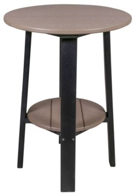 Deluxe 28 Inch High Outdoor Side Table