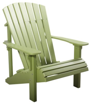 Amish Outdoors Lime Green Deluxe Adirondack Chair