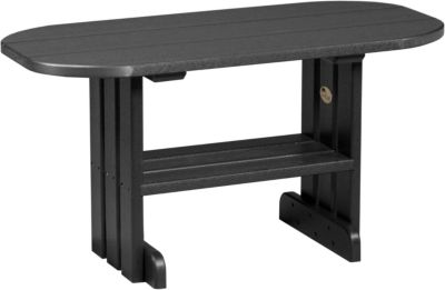 Amish Outdoors Adirondack Deluxe Coffee Table Black