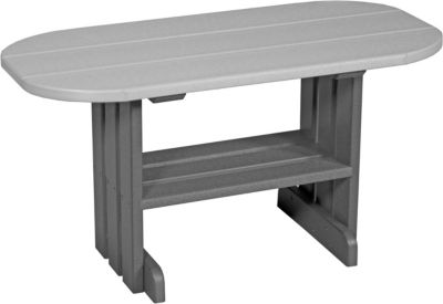Amish Outdoors Adirondack Deluxe Coffee Table Gray/Slate