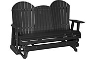 Amish Outdoors Deluxe Adirondack Outdoor Glider Sofa with Console