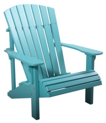 Amish Outdoors Aruba Blue Deluxe Adirondack Chair