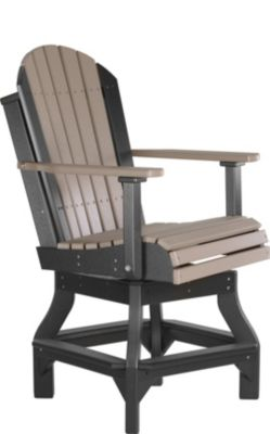 Amish Outdoors Outdoor Swivel Counter Stool