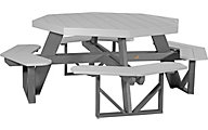 Amish Outdoors Octagon Picnic Table