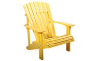Amish Outdoors Yellow Deluxe Adirondack Chair