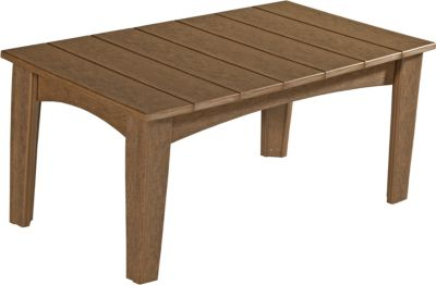 Amish Outdoors Island Coffee Table