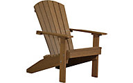 Amish Outdoors Adirondack Lakeside Chair in Antique Mahogany