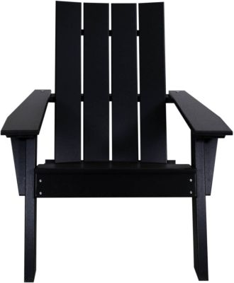 Amish Outdoors Adirondack Urban Chair Black