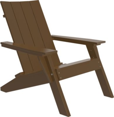 Amish Outdoors Adirondack Urban Chair Chestnut Brown