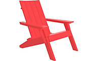 Amish Outdoors Adirondack Urban Chair Red