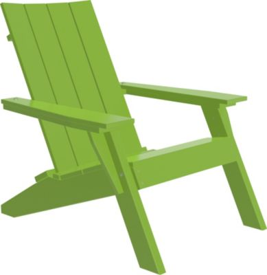 Amish Outdoors Adirondack Urban Chair Lime Green