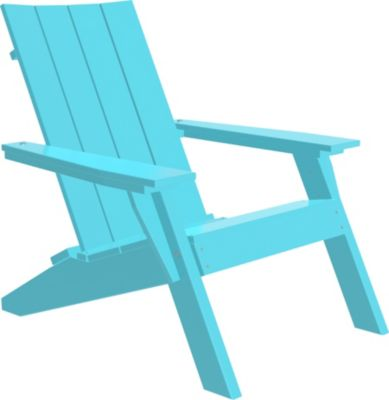 Amish Outdoors Adirondack Urban Chair Aruba Blue