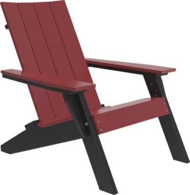 Amish Outdoors Adirondack Urban Chair Cherrywood/Black