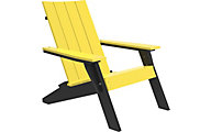 Amish Outdoors Adirondack Urban Chair Yellow/Black