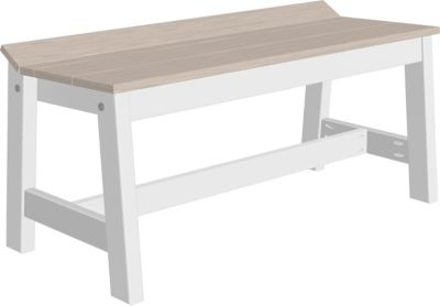 Amish Outdoors Island Cafe Dining Bench