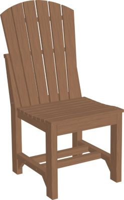 Amish Outdoors Island Adirondack Side Chair Mahogany
