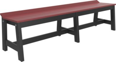 Amish Outdoors Luxcraft 72 Cafe Dining Bench