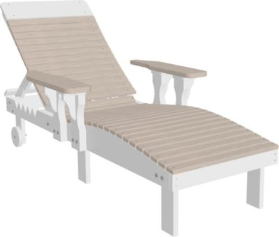 Amish Outdoors Lounge Chair