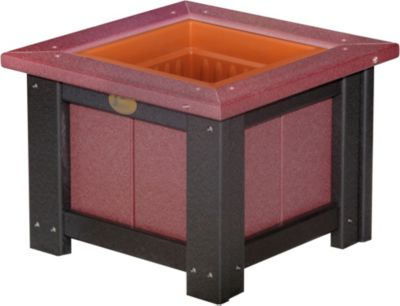 Amish Outdoors Planter 15-Inch Square Planter